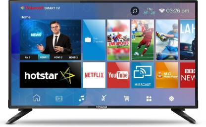 Polaroid 60cm (24 inch) HD Ready LED Smart TV  (LEDPO24AS)