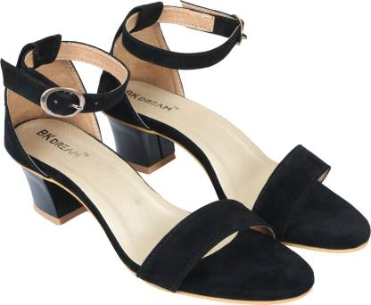 BK DREAM Women Black Heels
