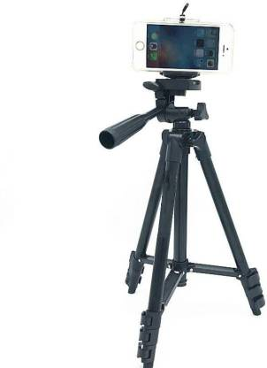 BUY SURETY 3120 Tripod 3-Way Head   Extend to 1020mm...   Built-in bubble level   360° horizontal and 90° vertical swivel with 3-way head   4-sections aluminum legs   Quick release leg lock   Non-slip rubber feet   Grip for adjusting head position   Lightweight and portable   Quick release head for easy connecting to camera or camcorder   Compatible with all Cameras and Camcorders Digital DSLR & SLR   Comes with carrying bag   Ideal for outdoor, travel and timer shoots Tripod