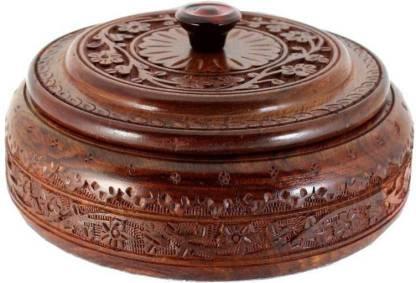 MartCrown wooden NEW chapati box Casserole Serve Casserole