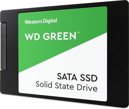 WD Green SATA 2.5/7mm disque 240 GB Laptop, All in One PC's, Desktop Internal Solid State Drive (WDS240G2G0A)