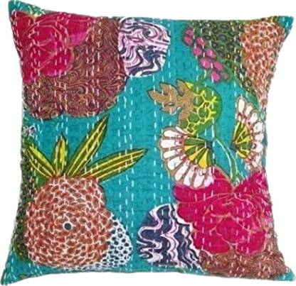 Vevel Cotton Floral Cushion Pack of 1