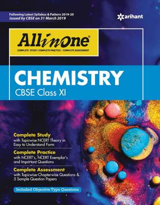 All in One Chemistry Cbse Class 11 2019-20