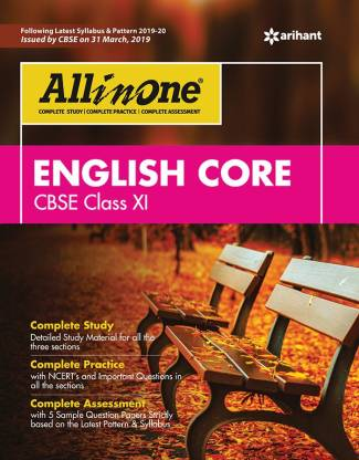 All in One English Core Cbse Class 11 2019-20
