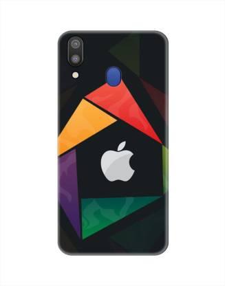 Smutty Back Cover for Samsung Galaxy M20, SM-M205F - Apple Logo Print