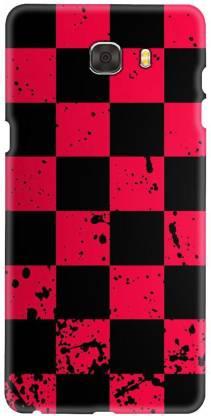 Smutty Back Cover for Samsung Galaxy C7 Pro, SM-C7010, SM-C701F, SM-C7018 - Box Print