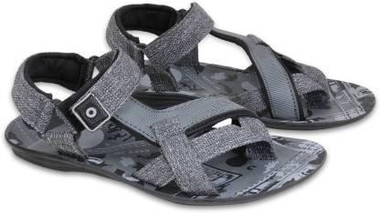 Fabbmate Men Grey Sports Sandals