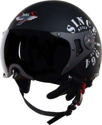 Steelbird SB-27-TANK-M-BLK-SLVR-L Skating Helmet