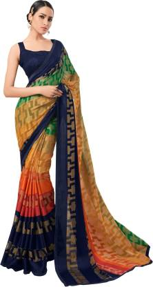 Liberty Lifestyle Printed Fashion Chiffon Saree