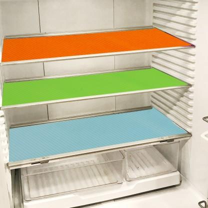 Bombay Dyeing Fridge Mat (Green, Blue, Orange)
