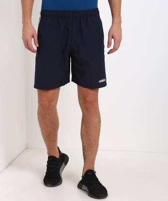 ADIDAS Solid Men Blue Sports Shorts