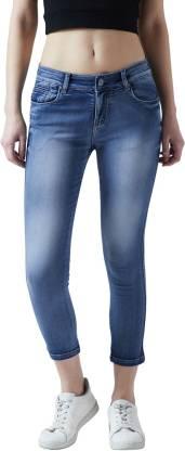 Super Skinny Women Blue Jeans