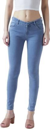 Lucky Brand Womens Sasha Super Skinny Jeans Bronson Blue