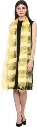Rhe-ana Self Design, Solid Viscose, Art Silk Women Stole, Scarf
