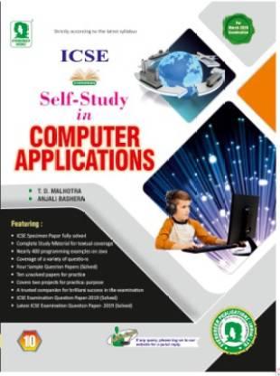 Icse Self-Study In Computer Applications Class 10