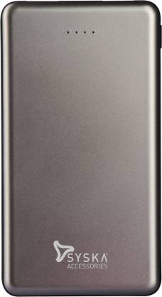 Syska 10000 mAh Power Bank (12 W, Fast Charging)