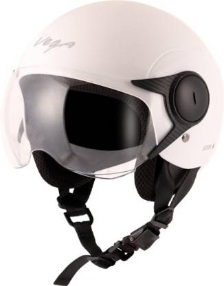 VEGA Atom Motorbike Helmet(White)