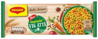 Maggi Nutri-licious Atta Masala Instant Noodles Vegetarian  (290 g)