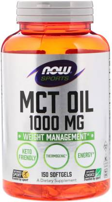 Now Foods Sports MCT Oil - 1000 mg - 150 Softgels