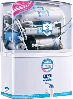 KENT GRAND MINERAL (11007) 8 L RO + UV + UF Water Purifier