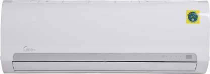 Midea 1 Ton 3 Star Split AC - White (12K 3 STAR SANTIS PRO CLS R32(MF001)/FIXED SPEED R32 ODU(MF001), Copper Condenser)