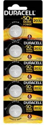 DURACELL CR 2032 Pack of 5 Battery  (Pack of 5)