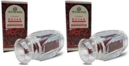 Nutriherbs Afghani Kesar - 1gm Pack of 2