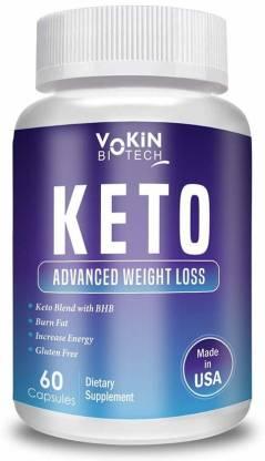 Vokin Biotech Natural Advanced Fat Burner Weight Loss Supplement 800mg