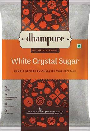 DHAMPURE Sulphurless Sugar  (1 kg) thumbnail