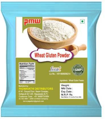 PMW Premium Quality Wheat Gluten - Seitan - 100 Grams Baking Powder