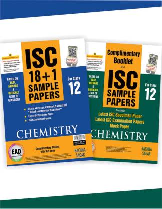 ISC Chemistry Sample Papers for Class 12th
