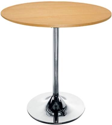 Round Metal Base Chrome Finish, Round Wooden Garden Table And Chairs Ireland