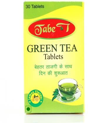Tabe T Green tea effervescent tablets Lemon Green Tea Plastic Bottle