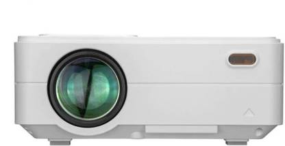 MEZIRE ® RD 813 Full HD 3D 2500 Lumens Portable Projector  (White) Portable Projector