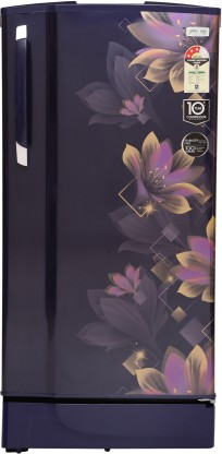 Godrej 190 L Direct Cool Single Door 3 Star Refrigerator with In-Built MP3 Player (Noble Purple, RD 1903 PM 3.2 NBL PRP)
