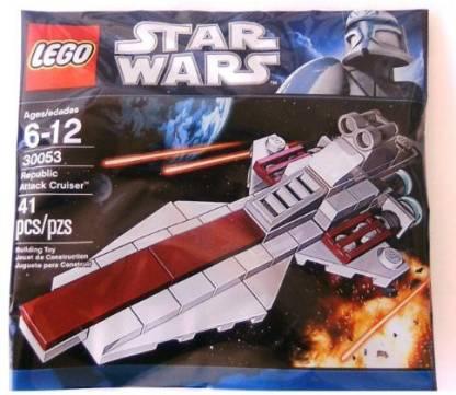 Star Wars Lego Republic Attack Cruiser (30053) Bagged