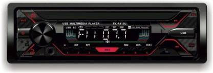 Auto Garh Car Stereo Sinle Din FX- A100U | car Music System | Car Stereo with Bluetooth, USB, Aux, SD Card Car Stereo