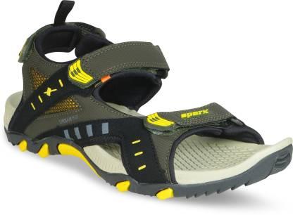 Sparx Men Olive Sports Sandals