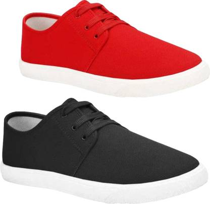 BRUTON Men Combo Pack of 2 Casual & Sneaker Shoes (Loafer Shoes) Sneakers For Men