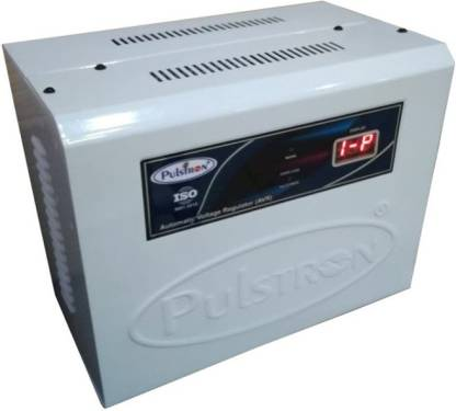 PULSTRON PTI AC4460D 4 KVA  160V 460V  Double Phase 2 Ton Air Conditioner Automatic Voltage Stabilizer   White  PULSTRON Voltage Stabilizers