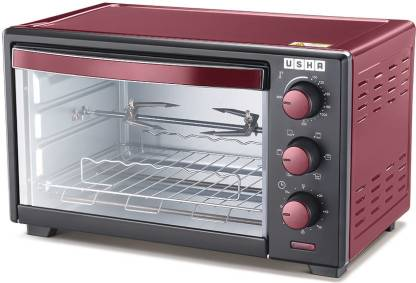 USHA 19-Litre OTGW 3619R Oven Toaster Grill (OTG)