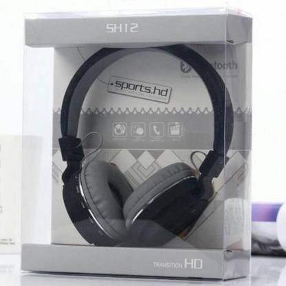 Omniversal SH12 Wireless Headphone for All Smart Devices Bluetooth Headset Bluetooth Headset