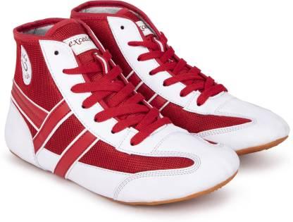 excido Blue kabbadi shoes Boxing & Wrestling Shoes For Men