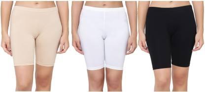 AJ FASHIONS Solid Women Multicolor Basic Shorts