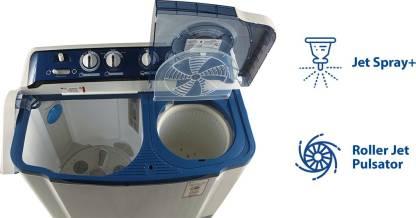 LG 8 kg Semi Automatic Top Load Blue P9037R3SM  LG Washing Machines