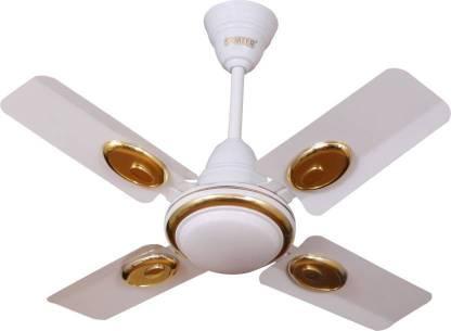 Sameer Ruby 24 inch High speed 4 mm 4 Blade Ceiling Fan