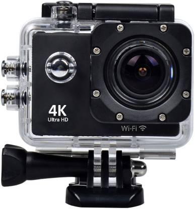 Style Maniac 4k Ultra HD 4k Ultra HD waterproof sports/Action camera Sports and Action Camera (Black 16 MP) Sports and Action Camera