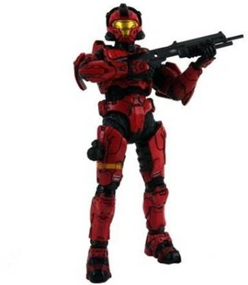 McFarlane Toys Halo 3 Series 2 Spartan Soldier Cqb Red