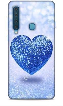 MAPPLE Back Cover for Samsung Galaxy A9 (2018) Quad Camera (Heart / Designer)
