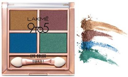 Lakmé 9 to 5 Eye Color Quartet Eye Shadow 7 g